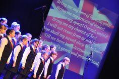Singing with BLAKE...  Hywel Girls' Choir & Hywel Boy Singers founded by John Hywel Williams MBE... Say hello at info@hywelchoir.com