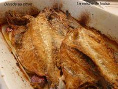 Dorade - Daurade - au citron - Le blog de lacuisinelouisa