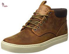 Timberland Ek Adventure Cupsole Chukka, Baskets mode homme - Marron (Medium Brown), 45 EU (10.5 UK) (11 US) - Chaussures timberland (*Partner-Link)
