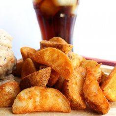 Seasoned Baked Potato Wedges