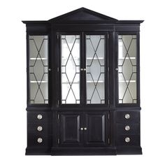 Tuxedo Black Ascot Start Looking For A Really Cool China Cabinet We Could Use It In The Kitchen Or Dining Room