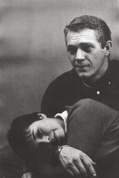 Steve McQueen & his wife Neile