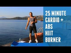 25 Minute Cardio HIIT + Abs Blaster | The Body Coach - YouTube