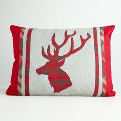 Stag head pillow, World Market $29.99
