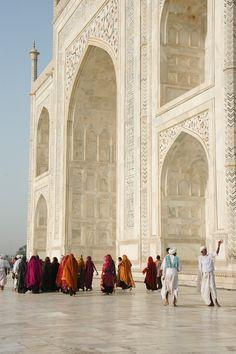 @ The Taj Mahal, Agra, India