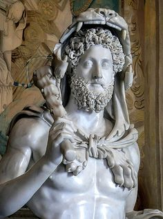 Photographed at the Capitoline Museum, Rome, Italy. Ancient Rome, Ancient Art, Ancient History, Art History, Roman Sculpture, Sculpture Art, Sculpture Ideas, Roman Art, Early Christian