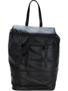 BOTTEGA VENETA Coated Cotton Backpack
