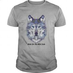 Walk on the Wild Side - Wolf - #teens #kids t shirts. MORE INFO =>…