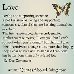 Quotes About Living - Doe Zantamata: Love - Incentive for change