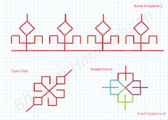 Learn to Sew Kasuti Embroidery, Embroidery Sampler, Folk Embroidery, Modern Embroidery, Ribbon Embroidery, Cross Stitch Embroidery, Embroidery Patterns, Blackwork Patterns, Textile Patterns
