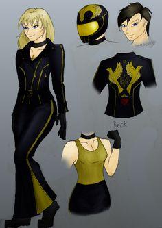 Black Canary Redesign by StolenThunder on DeviantArt Black Canary Costume, Superhero Villains, Team Arrow, Dc Comics Art, Dc Universe, Comic Art, New Look, Princess Zelda, Deviantart