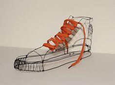 Wire art: wire sculpture