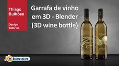 Como modelar uma Garrafa vinho 3D ( glass wine ) com Blender