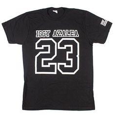 Iggy Azalea '23' T-shirt, Black