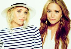 I will always love them! I used to be mary-kate and you were ashley:)
