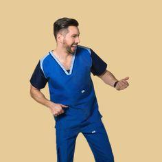 » QX19 RepelenteTanyre | El uniforme de los expertos Scrubs, Polo Shirt, Medical, Mens Fashion, Mens Tops, Shirts, Dental, Geek, Style