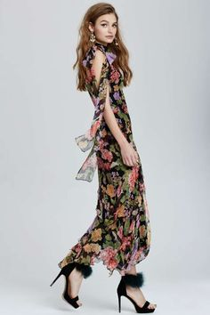 Vintage Dolce & Gabbana Montesilvano Floral Dress