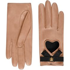 Gucci Leather Gloves With Grosgrain Bow (3530460 PYG) ❤ liked on Polyvore featuring accessories, gloves, accessories - gloves, pink, women, bow glove, real leather gloves, gucci gloves, gucci and pink leather gloves