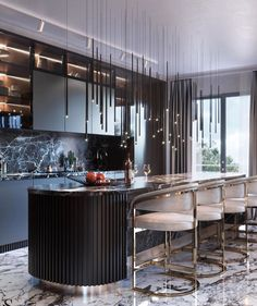 Home Decor Kitchen .Home Decor Kitchen Luxury Kitchen Design, Kitchen Room Design, Kitchen Cabinet Design, Luxury Kitchens, Luxury Interior Design, Dining Room Design, Home Decor Kitchen, Interior Design Kitchen, Interior Modern
