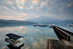 Morning glow , Sun Moon Lake 日月潭 by Vincent_Ting, via Flickr