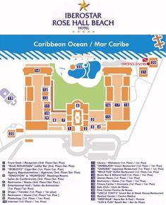 Map Layout Iberostar Rose Hall Beach