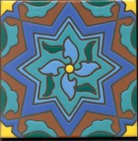 Catalina tile 6x6, I have this pattern with a little more yellow and teal