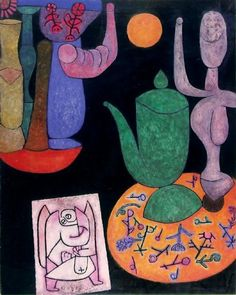 """'Still Life', 1940 - Paul Klee 