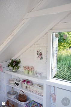 Domek drewniany dla dzieci - zdjęcie od MLS.blog - Ogród - MLS.blog