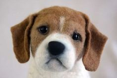 Send in photo of your dog and they'll make a felted version. Profits go to local shelters.