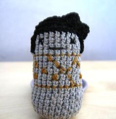 Crocheted Kokeshi 1st try (2007)