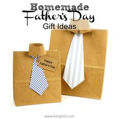 When it comes to Dad's, think simple for homemade Father's Day Gifts. Here are some ideas to inspire your personal gift.