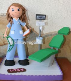 Fofucha dentista con accesorios https://www.facebook.com/pages/Clikayregala/596976547018788
