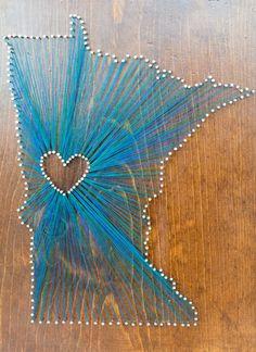 Make State-Themed String Art