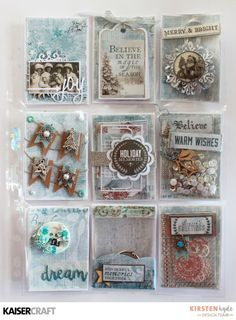 KAISERCRAFT - FROSTED - POCKET LETTER - STENCILS - WASHI TAPE - HAND MADE EMBELLISHMENT - KIRSTEN HYDE - MYHYDEAWAY - 2