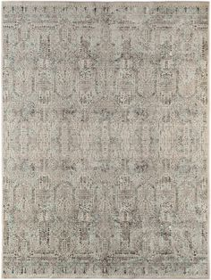 Modern Loom Cambridge Aqua Transitional Abstract Rug from the Assorted Transitional Rugs collection at Modern Area Rugs