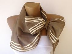 beige trend scarf  girly scarf fashion accessory  by scarvesCHIC, $19.00