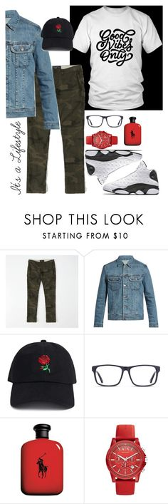 """""""GVO 1"""" by iamyoloamour on Polyvore featuring Abercrombie & Fitch, A.P.C., 21 Men, John Lewis, Armani Exchange, men's fashion and menswear"""