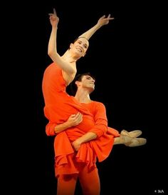 Amandine Albisson et Marc Moreau – Daphnis et Chloé.  ph. credit IKAubert