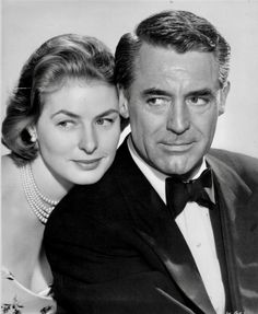 "Ingrid Bergman and Cary Grant in ""Indiscreet"", 1958."