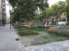 Barcelona landscape architecture, 2015