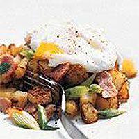 Bacon, Potato and Onion Hash