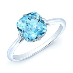 Minimal. Prismatic. Aquamarine Solitaire Gemstone Ring in 14k White Gold.  http://www.ebay.com/itm/1-95-TCW-Aquamarine-Solitaire-Gemstone-Ring-In-14k-White-Gold-/391801288787?hash=item5b392d3853:g:zMkAAOSwCU1Y4IBt&utm_content=bufferd05d4&utm_medium=social&utm_source=pinterest.com&utm_campaign=buffer
