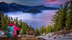 From Crater Lake to the southwestern coast, from the Oregon Outback to Umpqua National Forest, this article offers a bunch of ideas for the ultimate Southern Oregon camping trip. Crater Lake Camping, Crater Lake Oregon, Oregon Camping, Tent Camping, Campsite, Best Greek Islands, Vacations In The Us, Crater Lake National Park, Pike Place Market