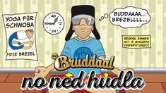 MC Bruddaal - No ned hudla (Für Stress han I koi Zeit) / No net hudla
