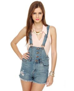 overall shorts- and i thought they were out of style