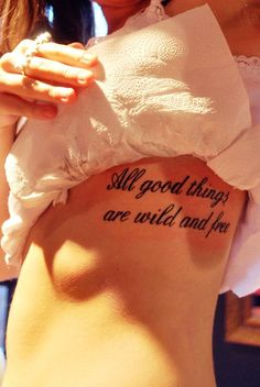 Short Love Quote Tattoos - Short Love Quote Tattoos for Girls idk but this I completely love. It's perfect and simple but says soo much!