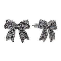I've kinda fell in love with bows.  And these earrings are definitely calling my name... :)