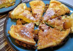 Diós-barackos szuflé palacsinta French Toast, Muffin, Breakfast, Ethnic Recipes, Dios, Morning Coffee, Cupcakes, Muffins, Morning Breakfast