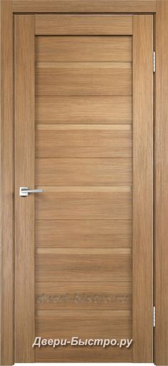 Межкомнатная дверь Duplex ПГ Дуб золотой (Экошпон)