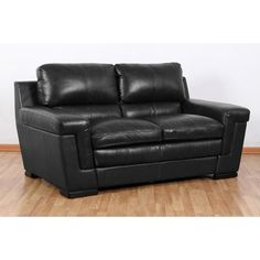 100% top grain leather everywhere you touch! Bari Loveseat   Weekends Only Furniture and Mattress